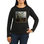 Peter Piper Women's Long Sleeve Dark T-Shirt