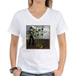 Peter Piper Women's V-Neck T-Shirt