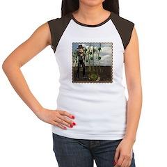 Peter Piper Women's Cap Sleeve T-Shirt
