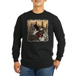 Prince Phillip Long Sleeve Dark T-Shirt