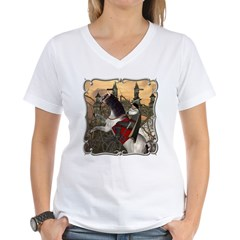 Prince Phillip Women's V-Neck T-Shirt