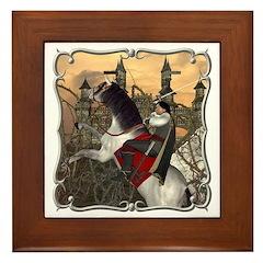 Prince Phillip Framed Tile