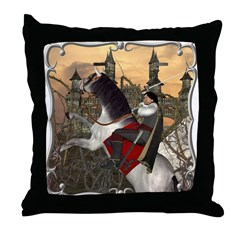 Prince Phillip Throw Pillow