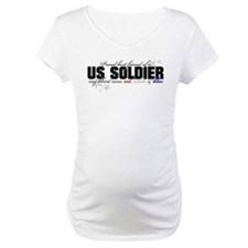 Red, white & blue Army Best F Shirt