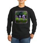 The Purple Cow Long Sleeve Dark T-Shirt