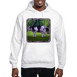 The Purple Cow Hooded Sweatshirt