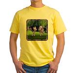 The Purple Cow Yellow T-Shirt