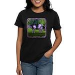 The Purple Cow Women's Dark T-Shirt