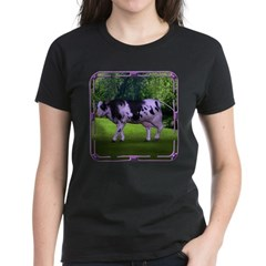 The Purple Cow Women's Dark T-Shirt
