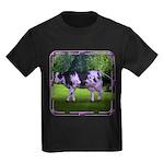 The Purple Cow Kids Dark T-Shirt