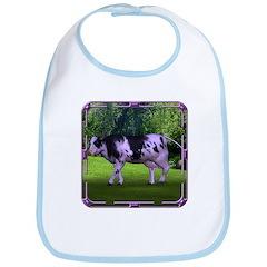 The Purple Cow Bib