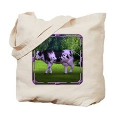 The Purple Cow Tote Bag