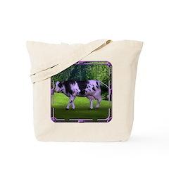 The Purple Cow Tote Bag