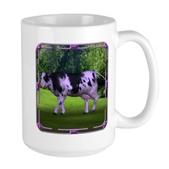 The Purple Cow Large Mug