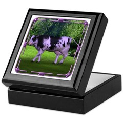 The Purple Cow Keepsake Box