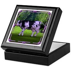 The Purple Cow Keepsake Box