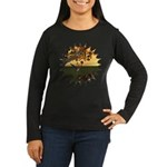 Robin Redbreast Women's Long Sleeve Dark T-Shirt