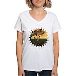 Robin Redbreast Women's V-Neck T-Shirt