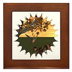 Robin Redbreast Framed Tile