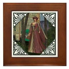 Sleeping Beauty Framed Tile