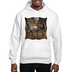 Southwest Horses Hooded Sweatshirt