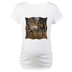 Southwest Horses Maternity T-Shirt