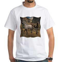 Southwest Horses White T-Shirt