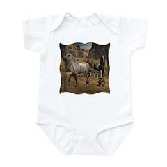 Southwest Horses Infant Bodysuit