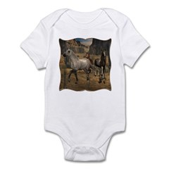 Southwest Horses Infant Bodysuit