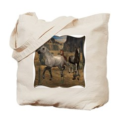 Southwest Horses Tote Bag