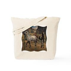 Southwest Horses Tote Bag