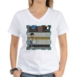 Tom, Tom Piper's Son Women's V-Neck T-Shirt