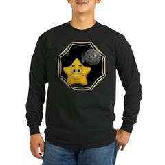 Twinkle, Twinkle Little Star Long Sleeve Dark T-Sh