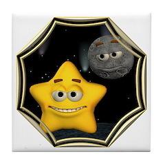 Twinkle, Twinkle Little Star Tile Coaster