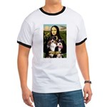 MonaLisa-Two Aussie Sheps. Ringer T