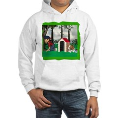 Where, Oh Where? Hooded Sweatshirt