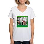 Where, Oh Where? Women's V-Neck T-Shirt