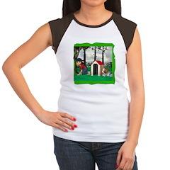 Where, Oh Where? Women's Cap Sleeve T-Shirt