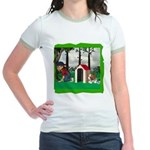 Where, Oh Where? Jr. Ringer T-Shirt
