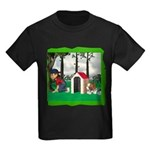 Where, Oh Where? Kids Dark T-Shirt