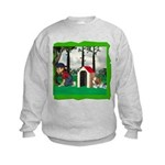 Where, Oh Where? Kids Sweatshirt