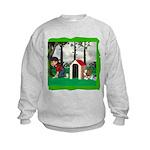 Where, Oh Where? Kids Sweatshirt