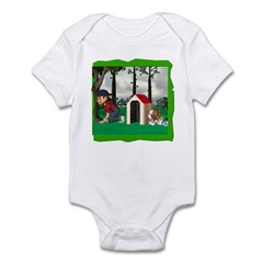 Where, Oh Where? Infant Bodysuit