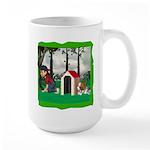 Where, Oh Where? Large Mug