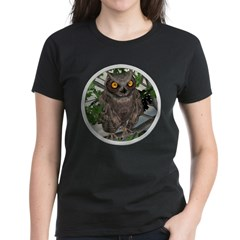 The Wise Old Owl Women's Dark T-Shirt
