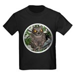 The Wise Old Owl Kids Dark T-Shirt