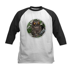 The Wise Old Owl Kids Baseball Jersey