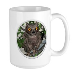 The Wise Old Owl Large Mug