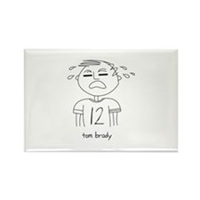 Cute Tom brady Rectangle Magnet