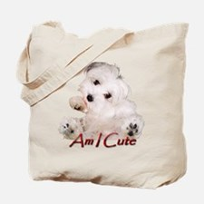 Chia Am I Cute Tote Bag